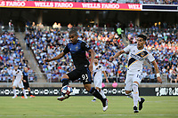 STANFORD, CA - JUNE 29: Judson #93 during a Major League Soccer (MLS) match between the San Jose Earthquakes and the LA Galaxy on June 29, 2019 at Stanford Stadium in Stanford, California.