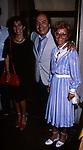 LINO BANFI CON LA MOGLIE E LA FIGLIA<br /> OPEN GATE CLUB ROMA 1992