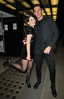 """Sadie Frost and Ben Charles Edwards at the 65th BFI London Film Festival """"Quant"""" world premiere, Curzon Mayfair, Curzon Street, on Saturday 09th October 2021, in London, England, UK. <br /> CAP/CAN<br /> ©CAN/Capital Pictures"""