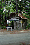 Maine Forest and Logging Museum, Bradley, Maine, USA.