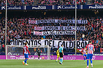 Atletico de Madrid supporters during the La Liga match between Atletico de Madrid vs Villarreal CF at the Estadio Vicente Calderon on 25 April 2017 in Madrid, Spain. Photo by Diego Gonzalez Souto / Power Sport Images