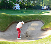 Damien MCGRANE (IRL) during round 1 of the 2015 BMW PGA Championship over the West Course at Wentworth, Virgina Water, London. 21/05/2015<br /> Picture Fran Caffrey, www.golffile.ie: