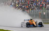 28th August 2021; Spa Francorchamps, Stavelot, Belgium: FIA F1 Grand Prix of Belgium, qualifying sessions;   4 Lando Norris GBR, McLaren F1 Team