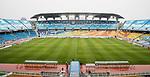 A view of Suwon World Cup Stadium during the AFC Champions League 2017 Group G match between Suwon Samsung Bluewings (KOR) vs Kawasaki Frontale (JPN) at the Suwon World Cup Stadium on 25 April 2017, in Suwon, South Korea. Photo by Yu Chun Christopher Wong / Power Sport Images