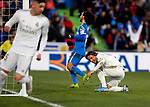 Real Madrid CF's Luka Modric  celebrates after scoring a goal during the Spanish La Liga match round 19 between Getafe CF and Real Madrid at Santiago Bernabeu Stadium in Madrid, Spain during La Liga match. Jan 04, 2020. (ALTERPHOTOS/Manu R.B.)
