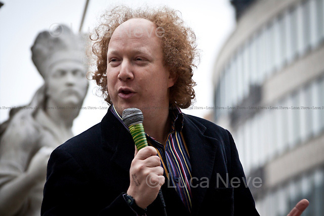 Andy Zaltzman, British comedian and author - 2011<br />
