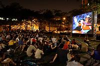 Outdoor projection Fantasia Festival