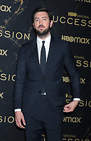 """October 12, 2021.Nicolas Braun attend HBO's """"Succession"""" Season 3 Premiere at the  American Museum of Natural History in New York October 12, 2021 Credit: RW/MediaPunch"""