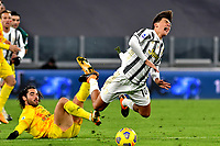 Paulo Dybala of Juventus FC in action during the Serie A football match between Juventus FC and Cagliari Calcio at Allianz stadium in Torino (Italy), November21th, 2020. Photo Giuliano Marchisciano / Insidefoto