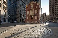 Old State House, Boston Massacre site, Boston, MA