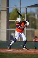 Trenton Shaw (16) during the WWBA World Championship at Lee County Player Development Complex on October 9, 2020 in Fort Myers, Florida.  Trenton Shaw, a resident of Desoto, Texas who attends Prestonwood Christian Academy High School, is committed to Oklahoma State.  (Mike Janes/Four Seam Images)
