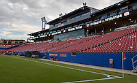 Frisco, TX. - September 13, 2016: FC Dallas takes on the New England Revolution in the 2016 U.S. Open Cup Final at Toyota Stadium.