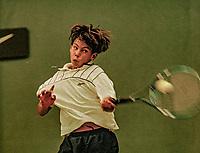 Netherlands, November 1997, NIKE junior tour, Rafael Nadal (ESP)