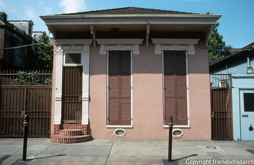 New Orleans:  810 Orleans St. --Shotgun house.