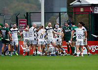 4th October 2020; Twickenham Stoop, London, England; Gallagher Premiership Rugby, London Irish versus Bristol Bears;  Joe Joyce of Bristol Bears and the rest of the Bristol Bears players celebrate just before full time with the score 7 - 36 to Bristol Bears