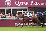 We Are with Jockey Thierry Jarnet wins the Prix de L'Opera race at the Qatar Prix de l'arc de triomphe weekend.