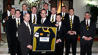 Photo: Richard Lane/Richard Lane Photography. London Wasps in Abu Dhabi for their LV= Cup game against Harlequins on 30st January 2011. 29/01/2011. London Wasps visit the British Embassy in Abu Dhabi with Ambassador, Dominic Jermey.