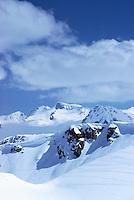 Whistler Ski Resort, BC, British Columbia, Canada - Downhill Ski Slopes (Coast Mountains)