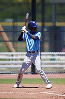 Tampa Bay Rays Luis Arcendo (72) during a Minor League Extended Spring Training game against the Atlanta Braves on April 15, 2019 at CoolToday Park Training Complex in North Port, Florida.  (Mike Janes/Four Seam Images)