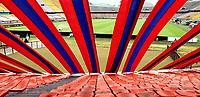 MEDELLÍN- COLOMBIA,  05-03-2021.Deportivo Independiente Medellín  y La Equidad en partido por la fecha 11 como parte de la Liga BetPlay DIMAYOR 2021 jugado en el estadio Atanasio Girardot  de la ciudad de Medellín. / Deportivo Independiente Medellin and La Equidad during match Betplay DIMAYOR League I 2021 played at  Atanasio Girardot stadium in Medellín city. Photo: VizzorImage / Donaldo Zuluaga / Contribuidor