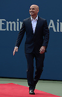 FLUSHING NY- SEPTEMBER 9: Andre Agassi during an on court cermony before Serena Williams Vs Victoria Azarenka in the Womens  finals on Arthur Ashe Stadium at the USTA Billie Jean King National Tennis Center on September 9, 2012 in in Flushing Queens. Credit: mpi04/MediaPunch Inc. ***NO NY NEWSPAPERS*** /NortePhoto.com<br /> <br /> **CREDITO*OBLIGATORIO** *No*Venta*A*Terceros*<br /> *No*Sale*So*third*...