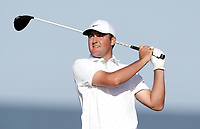 17th July 2021; Royal St Georges Golf Club, Sandwich, Kent, England; The Open Championship Golf, Day Three; Corey Conners (CAN) tees off at the 12th tee