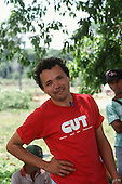 Acre State, Brazil. Rubber Tappers' leader Julio Barbosa.