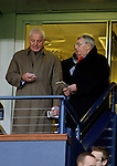 Walter Smith and James Mortimer take their seats