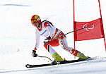 Sochi,Russia.16/03/2014- Canadian Alana Ramsay competes in women's giant slalom standing event at the 2014 Sochi paralympic winter games in Sochi, Russia. (Photo:Scott Grant/Canadian Paralympic Committee)
