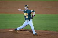 Siena Saints pitcher Matt Quintana (30) delivers a pitch during the opening game of the season against the UCF Knights on February 13, 2015 at Jay Bergman Field in Orlando, Florida.  UCF defeated Siena 4-1.  (Mike Janes/Four Seam Images)