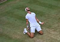5th July 2021, Wimbledon, SW London, England; 2021 Wimbledon Championships, day 7; Karen Khachanov , Russia