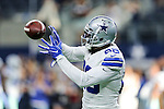 Dallas Cowboys wide receiver Dez Bryant (88) in action before the pre-season game between the Houston Texans and the Dallas Cowboys at the AT & T stadium in Arlington, Texas.