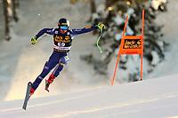 19th December 2020; Saslong, Val Gardena, Tyrol, Italy; International Ski Federation Alpine Ski World Cup, 2nd Men's Downhill, Val Gardena; Gugliemo Bosca (ITA)