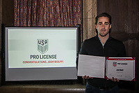 15 DECEMBER 2017:  USA PRO License Ceremony at the InterContinental Chicago Magnificent Mile, in Chicago, IL.