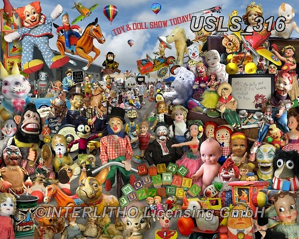 Lori, STILL LIFE STILLEBEN, NATURALEZA MORTA, paintings+++++Toy And Doll Show_72,USLS316,#i#, EVERYDAY