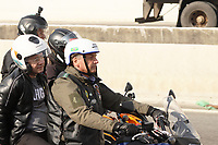 SÃO PAULO, SP, 12.06.2021 - POLITICA-SP - Jair Bolsonaro, Presidente da República, participa de passeio motociclístico com apoiadores, por algumas das principais ruas e avenidas de São Paulo, neste sábado, 12. (Foto Charles Sholl/Brazil Photo Press)