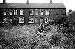 South Kirkby Colliery Yorkshire Miners Story England. 1979.<br /> Milton Terrace, is is where Geoff Boycott  lived with his family. <br /> Thanks to Brian Greenhough.