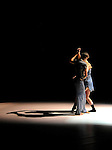 """University of Wisconsin-Stevens Point students Molly Anderson and Mariusz Kujawski rehearse  """"The Exigency"""" which they choreographed and will dance in the upcoming student run Afterimages dance performances choreographed by 10 students. (DOUG WOJCIK/STEVENS POINT JOURNAL)"""