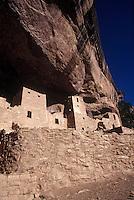 Native American Indian cliff dwelling, Mesa Verde, Colorado