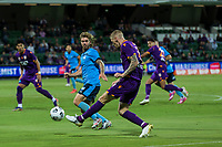 24th March 2021; HBF Park, Perth, Western Australia, Australia; A League Football, Perth Glory versus Sydney FC; Perth's Andy Keogh takes a shot on goal