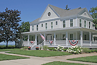 Home Americana decoration in South Haven Michigan