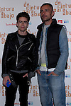 12.04.2012. Photocall invited to the premiere of  'From the waist down' at the Teatro Bellas Artes in Madrid. This funny and surprising comedy written and directed by Felix Sabroso and Dunia Ayaso, and starring Antonia San Juan, Luis Miguel Segui and Jorge  Monje. In the image Pelayo Diaz and David Delfin .(Alterphotos/Marta Gonzalez)