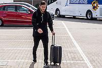 Spainsh Koke Resurrecion arriving at the concentration of the spanish national football team in the city of football of Las Rozas in Madrid, Spain. November 08, 2016. (ALTERPHOTOS/Rodrigo Jimenez) ///NORTEPHOTO.COM