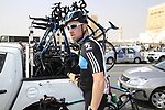 Bernhard Eisel (AUT) Sky Procycling before the start of Stage 1 of the Tour of Qatar 2012 running 142.5km from Barzan Towers to Doha Golf Club, Doha, Qatar. 5th February 2012.<br /> (Photo by Eoin Clarke/NEWSFILE).