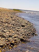 Edge of rocky beach<br />