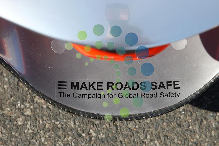 F1 GP of Australia, Melbourne 26. - 28. March 2010.MP4-25 - Make Roads Safe sticker..Picture: Hasan Bratic/Universal News And Sport (Europe) 26 March 2010.