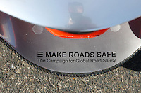 F1 GP of Australia, Melbourne 26. - 28. March 2010.MP4-25 - Make Roads Safe sticker..Picture: Hasan Bratic/Universal News And Sport (Europe) 26 March 2010.