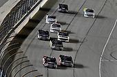 #5: Dylan Lupton, DGR-Crosley, Toyota Tundra DGR Crosley and #18: Harrison Burton, Kyle Busch Motorsports, Toyota Tundra Safelite AutoGlass