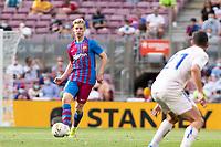 29th August 2021; Nou Camp, Barcelona, Spain; La Liga football league, FC Barcelona versus Getafe;  Frankie De Jong Barcelona