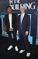 """NEW YORK CITY - AUG 24: Composer Siddhartha Khosla and Executive Producer Jess Rosenthal attends the screening of Hulu's """"Only Murders in the Building"""" at The Greens at Pier 17 on August 24, 2021 in New York City. (Photo by Frank Micelotta/Hulu/PictureGroup)"""